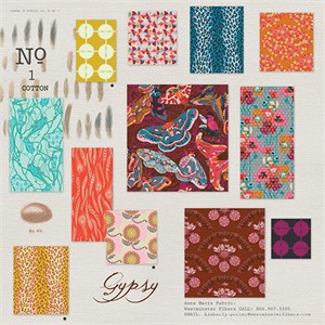 Anna Maria Horner, Field Study, Gypsy in FAT QUARTERS 11 Total