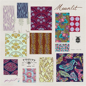 Anna Maria Horner, Field Study, Moonlit in FAT QUARTERS 10 Total