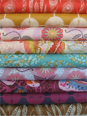 Anna Maria Horner, Field Study, VOILE, Sampler in FAT QUARTERS 9 Total