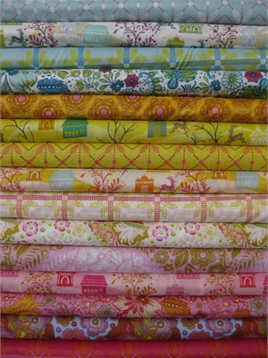 Anna Maria Horner, Little Folks, VOILE, Sweet Spectrum in FAT QUARTERS 15 Total