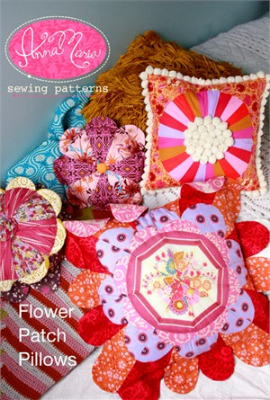 Anna Maria Horner Sewing Patterns, Flower Patch Pillows