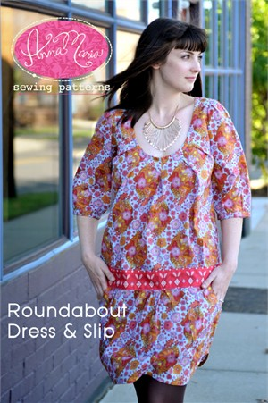 Anna Maria Horner Sewing Patterns Roundabout Dress and Slip