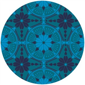 Anna Maria Horner, True Colors, Medallion Aquamarine