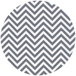 Ann Kelle for Robert Kaufman, Remix, Chevron Grey