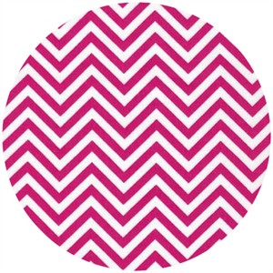 Ann Kelle for Robert Kaufman, Remix, Chevron Hot Pink