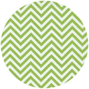 Ann Kelle for Robert Kaufman, Remix, Chevron Lime