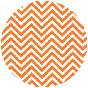 Ann Kelle for Robert Kaufman, Remix, Chevron Tangerine