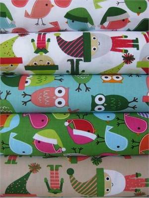 Ann Kelle, Jingle 2, in Fat Quarters, 5 Total