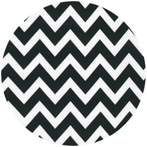 Ann Kelle, Remix, Chevron Stripes Black