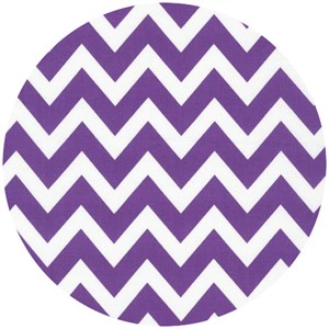 Ann Kelle, Remix, Chevron Stripes Crocus