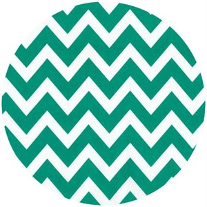 Ann Kelle, Remix, Chevron Stripes Emerald