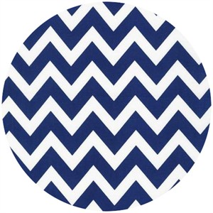 Ann Kelle, Remix, Chevron Stripes Navy