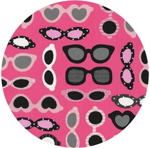 Ann Kelle, This and That, Sunglasses Hot Pink