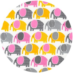 Ann Kelle, Urban Zoologie, FLANNEL, Elephants Grey