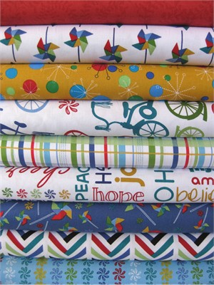 Angela Rekucki, Bikes N' Trikes in FAT QUARTERS, 9 Total
