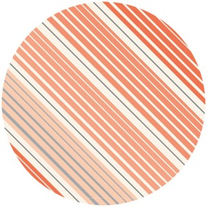 Anthology, Sweet Tea, Ombre Stripes Coral