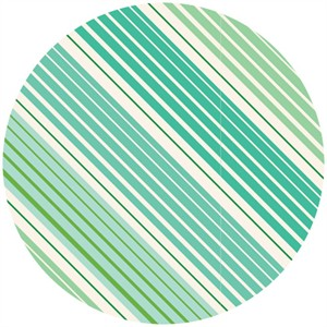Anthology, Sweet Tea, Ombre Stripes Turquoise