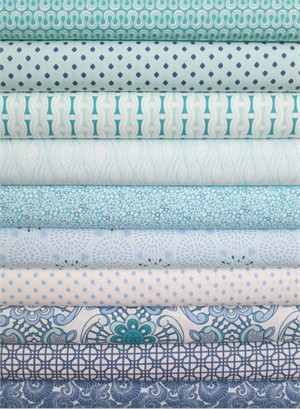 Angela Walters, Drift, Ocean in FAT QUARTERS 10 Total
