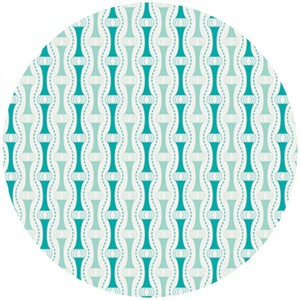 Angela Walters for Art Gallery, Drift, Way to Zen Teal