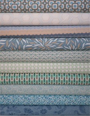 Angela Walters, Legacy, Azul in FAT QUARTERS 10 Total