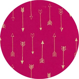 Michael Miller, Arrow Flight, Arrows Fuchsia