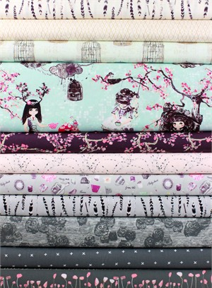 Katarina Roccella for Art Gallery, Wonderland in FAT QUARTERS 10 Total