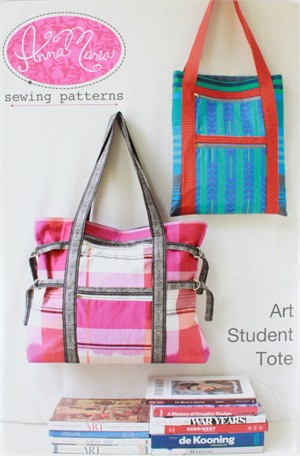 Anna Maria, Sewing Pattern, Art Student Tote