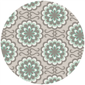 Art Gallery Fabrics, Chromatics, Fancy Buttons Grey