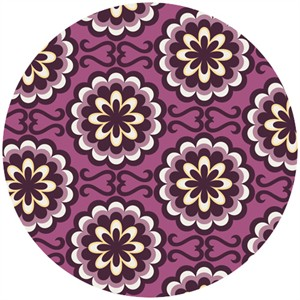 Art Gallery Fabrics, Chromatics, Fancy Buttons Purple