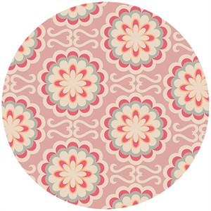 Art Gallery Fabrics, Chromatics, Fancy Buttons Rose