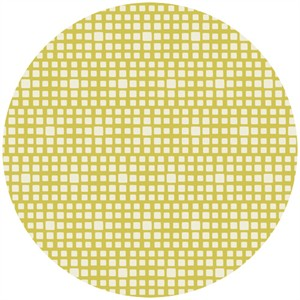 Art Gallery Fabrics, Squared Elements, Lemon