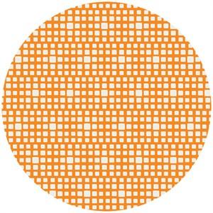 Art Gallery Fabrics, Squared Elements, Mandarin