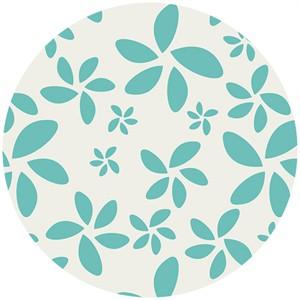 Art Gallery, Minimalista, Flora Turquoise
