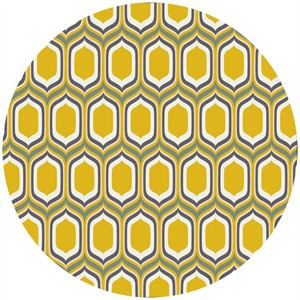 Art Gallery, Urban Mod, Stenciled Retro Gold