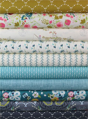 Bari J. Ackerman, Emmy Grace, Autumn's Sigh in FAT QUARTERS 10 Total