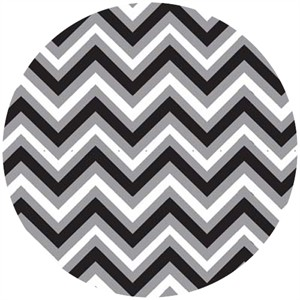 Barbara Jones, Anything Goes Basics, Chevron Black