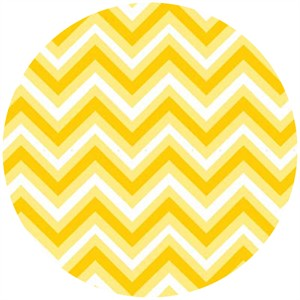 Barbara Jones, Anything Goes Basics, Chevron Yellow