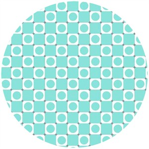 Barbara Jones, Anything Goes Basics, Square Dot Aqua
