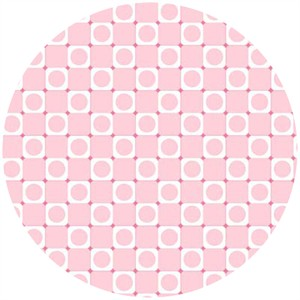 Barbara Jones, Anything Goes Basics, Square Dot Baby Pink