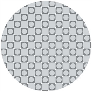 Barbara Jones, Anything Goes Basics, Square Dot Grey