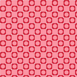 Barbara Jones, Anything Goes Basics, Square Dot Pink