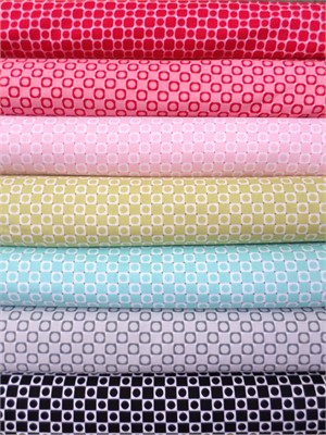 Barbara Jones, Anything Goes Basics, Square Dot in FAT QUARTERS 7 Total