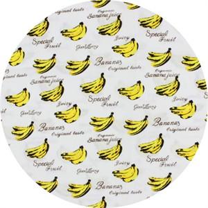 Cosmo Textiles, Bananas White