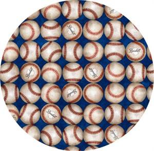 Quilting Treasures, Grand Slam, Baseballs Royal