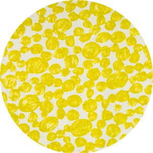 Japanese Import, BARKCLOTH, Pebbles Yellow
