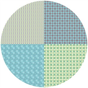 Bee In My Bonnet, Gracie Girl, Fat Quarter Panel Gray (1 Yard Panel)