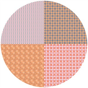 Bee In My Bonnet, Gracie Girl, Fat Quarter Panel Pink (1 Yard Panel)