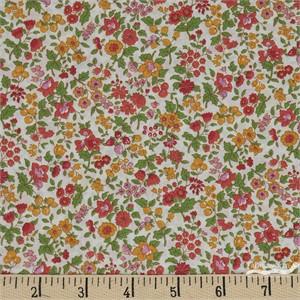 Japanese Import, Memoire A Paris LAWN, Berry Blossoms Marigold