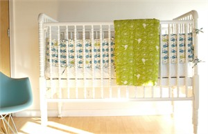Birch Organic Crib Bumper His Cruisers