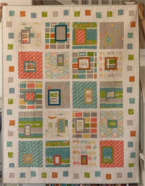 Birch Fabrics Commute Quilt Kit